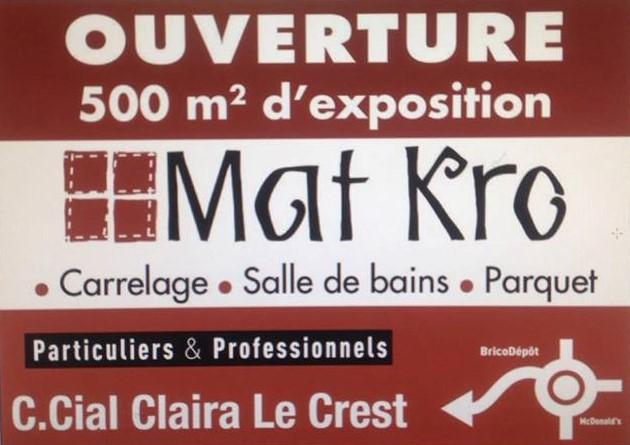 Matkro Espace Roussillon Site Officiel - K r o carrelage